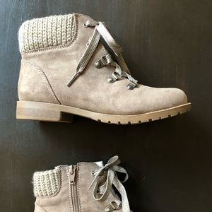 Brand New Girl's Taupe Boots!